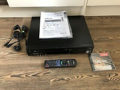 Panasonic DMR-EZ47 VHS & DVD Recorder/Player,(TRANSFER VHS TO DVD) With Freeview