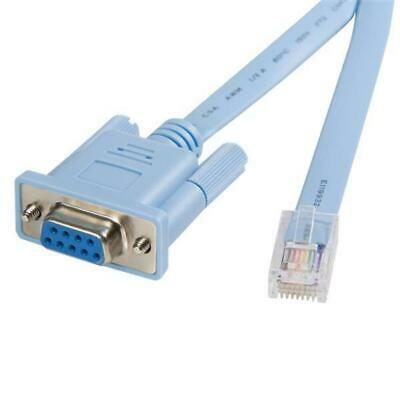 StarTech 6 ft RJ45 to DB9 Cisco Console Management Router Cable - M/F