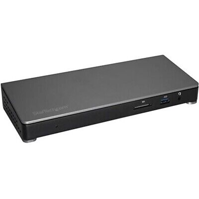 StarTech Thunderbolt™ 3 Dock for Laptops - Dual-4K - Power Delivery