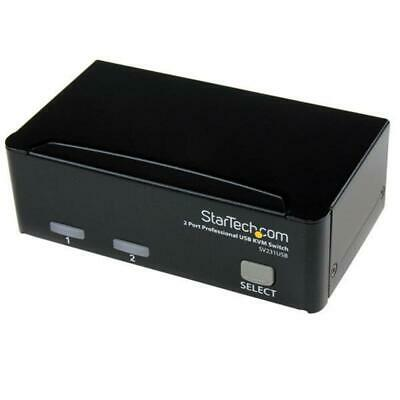 StarTech 2 Port Professional USB KVM Switch Kit with Cables