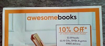 Awesome Books 10% Discount Voucher - Terms and Conditions Apply