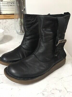 pretty nice e09c2 19bd0 DR MARTENS TANA Slouch Boots Black Size 5 38