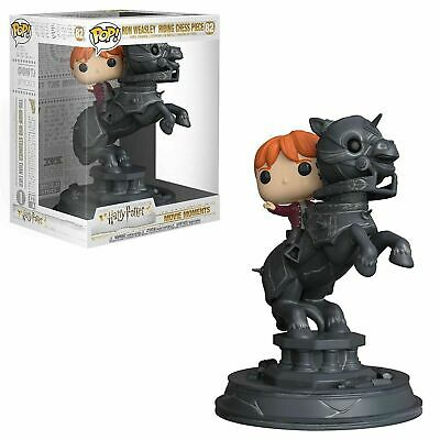 Funko POP!: Harry Potter Movie Moments: Ron Riding Chess Piece #82
