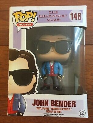 Funko Pop Movies John Bender Vinyl Figure The Breakfast Club #146 NIB