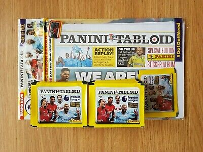 Panini Tabloid Premier Stickers Loose Pack Bundle
