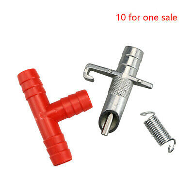 10 Sets Animal Nipple Drinker Poultry Water Automatic Tube Drip Drinkers