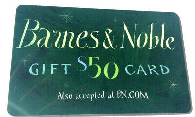 Barnes & Noble COLLECTIBLE Gift Card No Value RECHARGEABLE unscratched