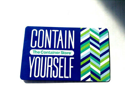 CONTAIN YOURSELF Gift Card New No Value---0---BALANCE RECHARGEABLE