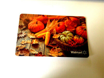 Walmart Fall Mint Gift Card Canada Bilingual No Value! Fd-62021