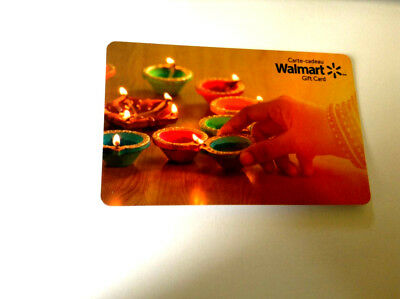 Walmart Candles Mint Gift Card Canada Bilingual No Value! Fd-62020