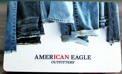 2017 American Eagle outfitters JEANS COLLECTIBLE Gift Card New No Value