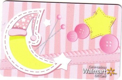 WALMART Limited Ed COLLECTIBLE Gift Card New No Value bilingual