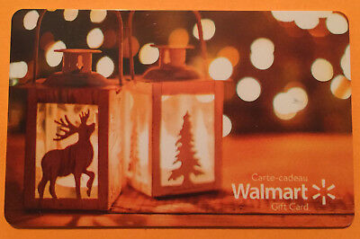 Walmart X-MASS 2017 Gift Card Limited Ed COLLECTIBLE New No Value