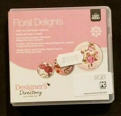 CreateandCraft My Craft Studio Floral Delights USB
