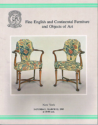 Christie's - Fine English & Continental Furniture & Objects of Art