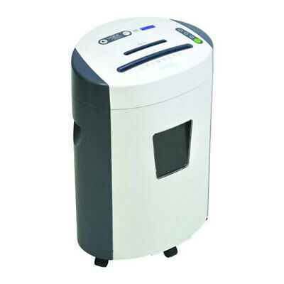 GoEcoLife Home Office 23L Micro Cut Shredder 12 A4 Paper Sheet/Credit Card/CD's