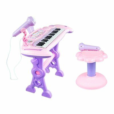 37 Key Electronic Keyboard Piano Organ Toy Microphone Kids Educational Toy O@