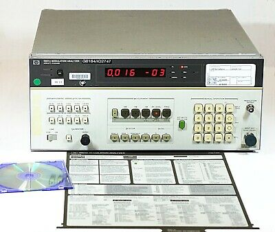HP 8901A Modulation Analyzer Option 002/010 Stable Osc. - Good Working Condition