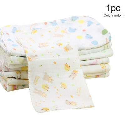 10Pcs Baby Newborn Gauze Muslin Square 100% Cotton Boy Girl Bath Wash