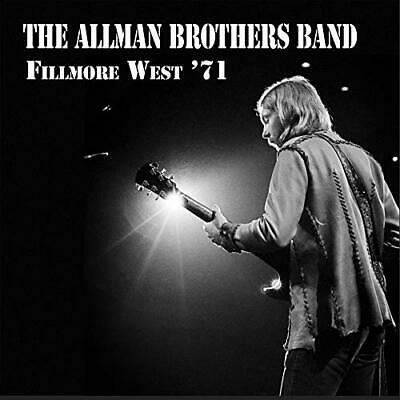 Fillmore West'71 The Allman Brothers Band Audio CD Classic Rock September 6 2019