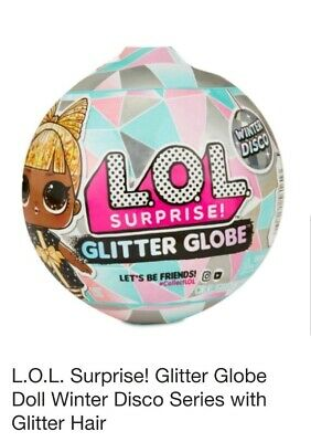 1 LOL Surprise Doll Winter Disco Series Glitter Globe Ball Holiday OMG IN STOCK!
