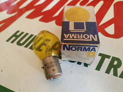 N.O.S ampoule lampe NORMA 12V 36/45W  MOTO VOITURE ampoules