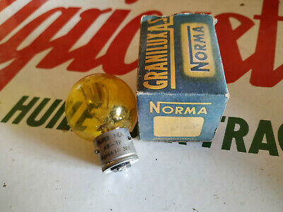 N.O.S ampoule lampe NORMA 6V 60B  MOTO VOITURE ampoules