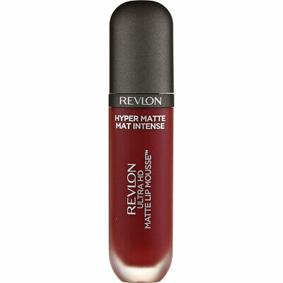 4 Pack Revlon Ultra HD Matte Lip Mousse, Spice 825, 0.2 fl oz
