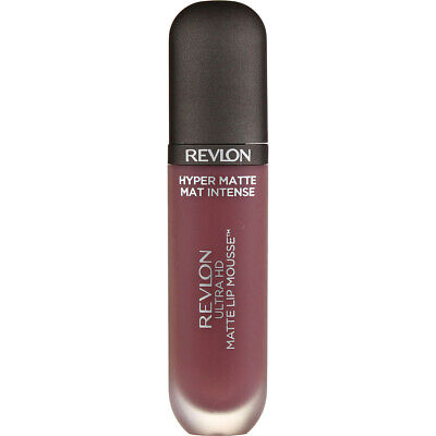 4 Pack Revlon Ultra HD Matte Lip Mousse, Death Valley 830, 0.2 fl oz