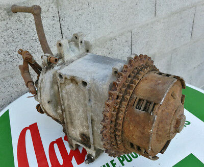 RARE boite de vitesse gearbox HURTH moto ancienne motosacoche standard new map