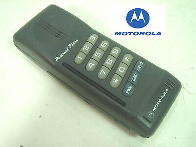 Telefono Movil Dificil- Motorola Personal Phone -Mobile Rare Vintage Not Sim