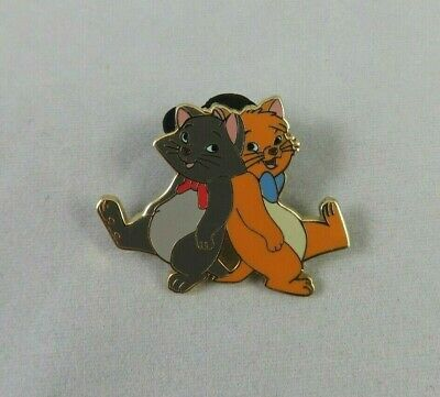 Walt Disney World Disneyland Pin - Aristocats Berlioz and Toulouse Back to Back