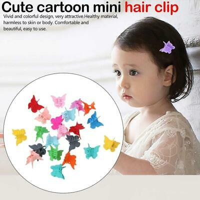 20/50/100Pcs Hair Claws Butterfly Hair Clips For Kids Baby Mini Hairpins Best