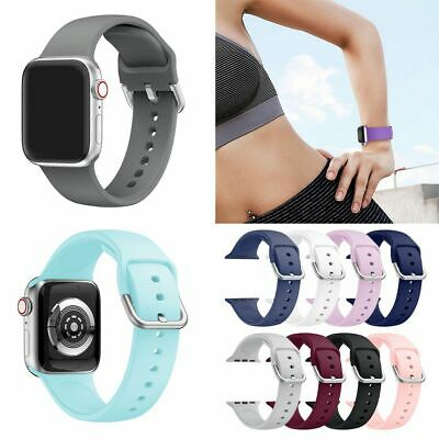 For Apple Watch Series 1 2 3 4 iWatch Sport Silicone Replacement Band Soft Strap