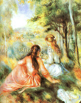 Renoir 64 Artist Painting Reproduction Handmade Oil Canvas Repro Wall Art Deco