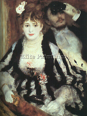 Renoir Loge Artist Painting Reproduction Handmade Oil Canvas Repro Wall Art Deco