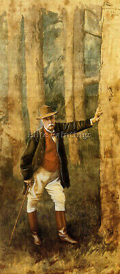 Tissot Self Portrait Artist Painting Reproduction Handmade Oil Canvas Repro Deco