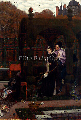 Tissot James Jacques Joseph Rendez Vous Artist Painting Oil Canvas Repro Art