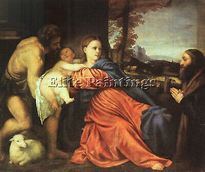Titian 07 Artist Painting Reproduction Handmade Oil Canvas Repro Wall Art Deco