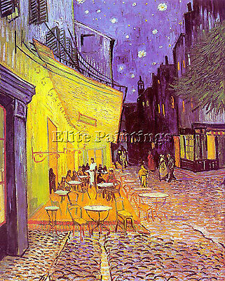 Van Gogh Cafe Terrace At Night Artist Painting Reproduction Handmade Oil Canvas