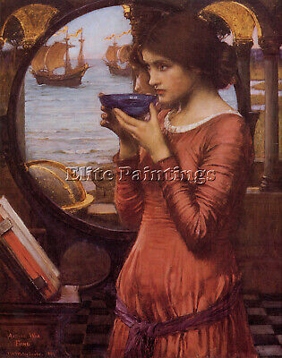 John William Waterhouse  Destiny Artist Painting Oil Canvas Repro Wall Art Deco