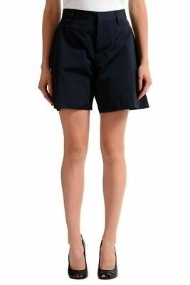 Dsquared2 Donna Navy Pantaloncini Casual USA XS It 38