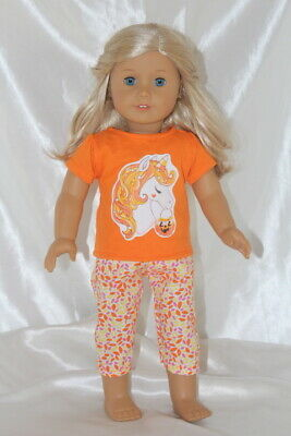 Halloween Dress Outfit fits 18inch American Girl Doll Clothes Unicorn Hearts Lot