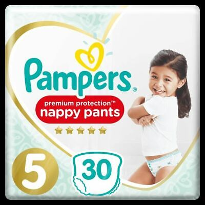 PAMPERS Premium Protection Pants Geant T5 X30