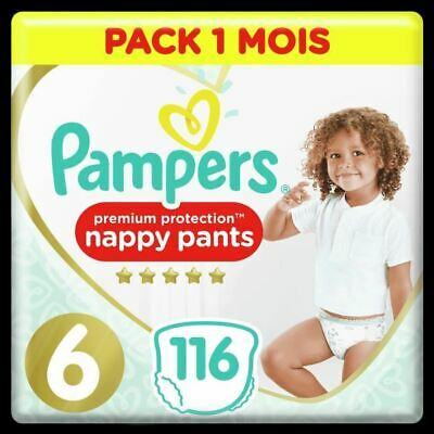 PAMPERS Premium Protection Pants T6 X116 Pack 1 Mois