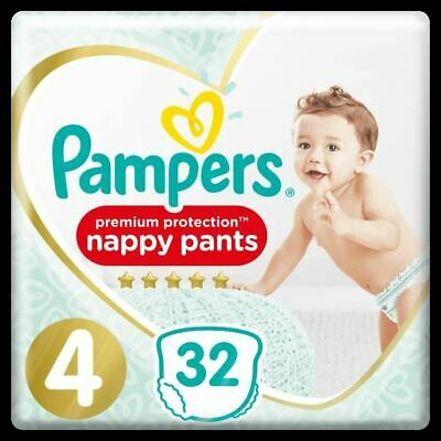 PAMPERS Premium Protection Pants Geant T4 X32