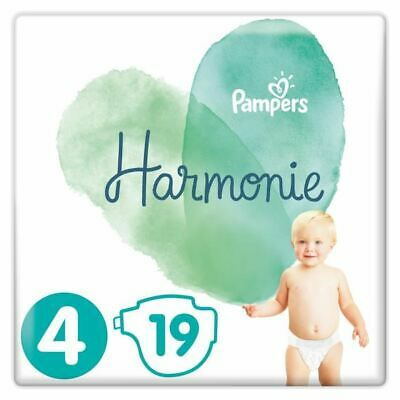 PAMPERS Harmonie Taille 4, 9-14 kg, 19 Couches