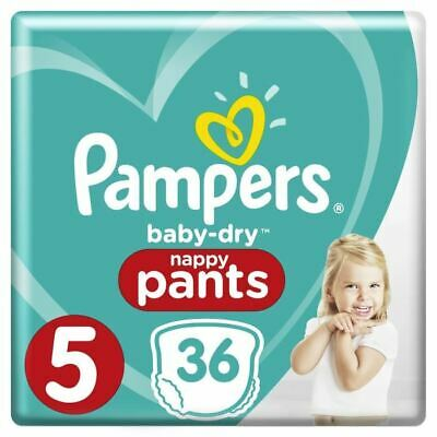 Pampers Baby-Dry Pants Taille 5 11-18 kg - 36 Couches-culottes