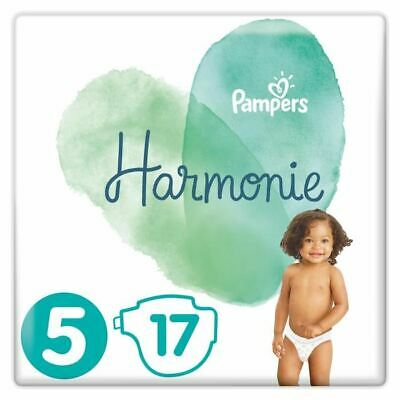 PAMPERS Harmonie Taille 5, 11 kg+, 17 Couches