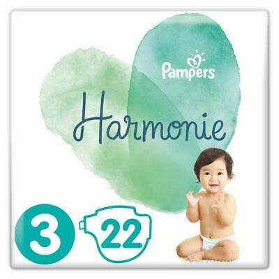 PAMPERS Harmonie Taille 3, 6 -10 kg, 22 Couches